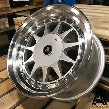 "Autostar Raider 15"" x7.5"" 4x100 et20 alloys fit VW Golf Mk1 Mk2 Polo MX5 RS LTD"