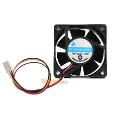 DC Brushless Cooling Fan 12V 60x60x25mm 3 Pin CPU Computer Heatsink Fan 3000 RPM
