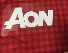 AON SPONSOR Soccer Patch Heat Transfer FOR MAN-U-TD Badge