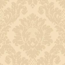 Neu Arthouse Luxus Da Vinci Creme Texturiert Damast Tapete - 405101