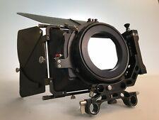 Movcam MM1A 4x5.6 Swing away Carbon Fiber light weight mattebox with 2x filter