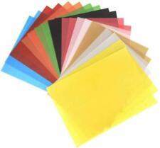 25 x vélin couleur translucide papier calque A4 160gsm 3 colours cardmaking