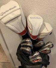 Taylormade Golf Set LEFT Handed STIFF Flex