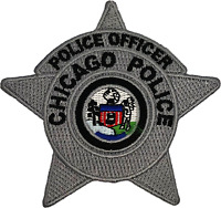 CHICAGO POLICE STAR PATCH: Police Officer