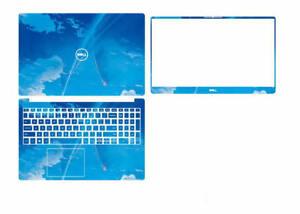 Dazzle Vinyl Laptop Special Sticker Skin For Dell inspiron 15-7590 7591