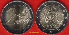 2015 LITUANIA 2 euro LINGUA LITUANA  FDC