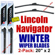 WINTER Wiper Blades 2-Pack Premium - fit 1998-2007 Lincoln Navigator - 35200x2