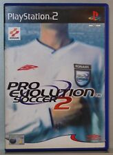 PRO EVOLUTION SOCCER 2 - PLAYSTATION 2 - PAL - COMPLETO