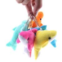 2X Kawaii 10CM Dolphin Stuffed toy Pendant TOY DOLL Bouquet Decor Plush tFFB