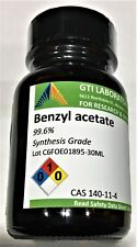 Benzyl acetate, 99.6%, Synthesis Grade, 30ml