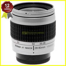 Obiettivo Nikon AF Nikkor 28-80mm f3,3-5,6 G Silver autofocus per fotocamere
