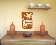 Wandtattoo Tiki Maori   25 Farben 7 Größen