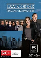 Law And Order - Special Victims Unit : Season 8 (DVD, 2009, 5-Disc Set) Region 4