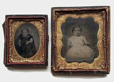 Vintage! Daguerreotypes . . . Young Girls.