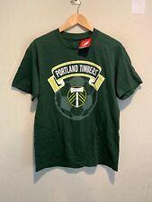NEW Portland Timbers MLS Soccer T-Shirt Size MEDIUM Men's Adult Green NWT