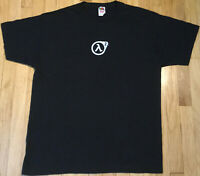 Vintage HALF LIFE 2 promo t shirt XL Valve black video gamer official