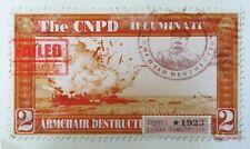 James Cauty The CNPD Illuminate Armchair Destructavism 2 giclee nod 10/20.