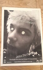 JOHN DU CANN Don't Be A Dummy 1979 UK Poster size Press ADVERT 16x12 inches