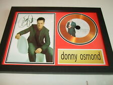 DONNY OSMOND   SIGNED GOLD CD  DISC  4