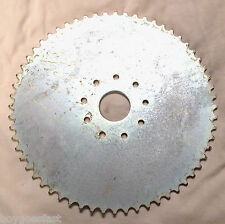 80cc Motor bicycle GAS ENGINE parts - 60 teeth flat sprocket only ( no mount)