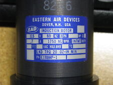 Eastern Air Devices Induction Motor E188HP-1   NSN  6105-00-418-2222