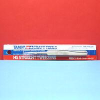 HG Straight Tweezers Rare from Japan SB Model/_kits Tamiya 74048 Craft Tools