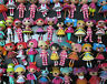 LOT OF 12 Mini Lalaloopsy Doll FIGURES by random #dsd4