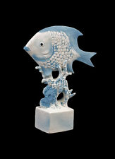 Bisquit Porzellan Figur Fisch Aquarium Wagner & Apel H24,5cm 9942498