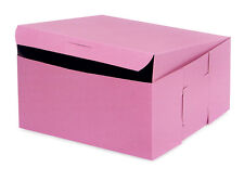 25 count PINK 8x8x4 Bakery or Cake Box