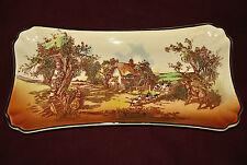 Royal Doulton china Rustic England pattern tray
