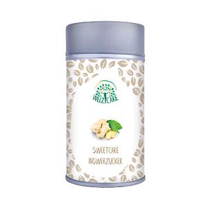 SweetCare Zuckerstreuer Ingwer, mit Erythritol (Erythrit), Stevia und Ingwer
