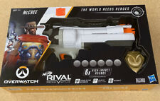 NERF Overwatch McCree Rival Blaster With Die Cast Badge & 6 Rounds