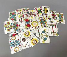 More details for vintage italian tarot cards, tarocchi piemontesi, armanino, 1950s