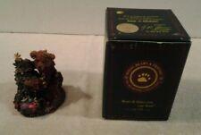 "1993 Boyds Bears & Friends ""Elliot & The Tree"" Bearstone Collection Figure Nib"