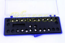 1 case Dental Orthodontic Brackets Mini Metal Braces ROTH 018 345 Hooks 20pcs