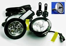 Land Rover Defender Daytime Running LED Light CONVERSION Kit Bumper Light