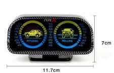 CAR METER / INCLINOMETER (PITCH & ROLL) GAUGE METER JEEP 4 X 4 CAR VEHICLES