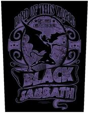 Black sabbath-dos écusson backpatch Lord of this world