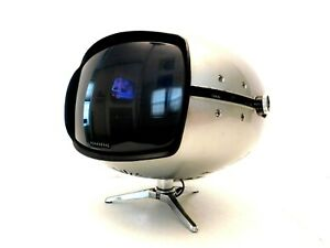 VINTAGE 1960s SPACE AGE PANASONIC EAMES ERA WORKING ATOMIC OLD MINI TELEVISION