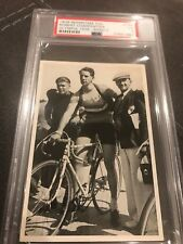 1936 Robert Charpenter Olympic card PSA VG 3 Reemstma CIG Band II Slabbed