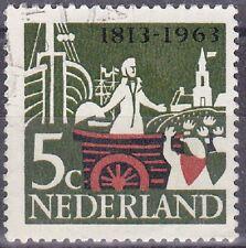 Netherlands Stamp 1963 SC 419 - 5 c . used $$$/ (08/08)