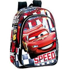 Disney CARS (0837) - Backpack with Pocket - Size approx:29x37x11cm