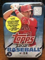 ‼️⚾️2021 Topps Series 1 MLB Baseball RANDOM Tin Trading Cards Sealed⚾️‼️