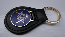 ZP198 Masonic Masons Keyring with G Geometry Freemason Square and Compass