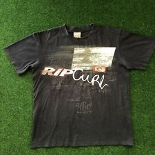 Vintage Men's Ripcurl Surfing T Shirt Size Large