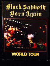 BLACK SABBATH-1983-BORN AGAIN TOUR CONCERT PROGRAM BOOK