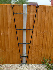 Designer Garden Fencing Trellis - 150mm x 600mm x 1700mm