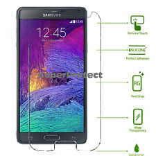 Samsung Galaxy Note 4 Tempered Glass Screen Protector N910c N910f