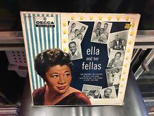 Ella Fitzgerald and Her Fellas LP Decca DL 8447 MONO orig VG [Louis Armstrong]