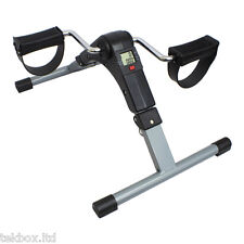 Digital Pedal Exerciser Folding Arm/Leg Mobility Aid Mini Exercise Bike Rehab